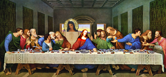 Last Supper with Mary Magdalene
